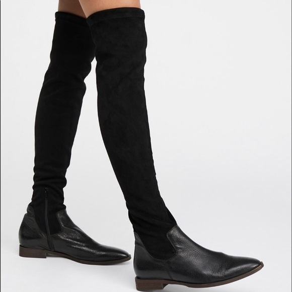 bc7f4e74919 Free People Bicoastal over the knee leather boot